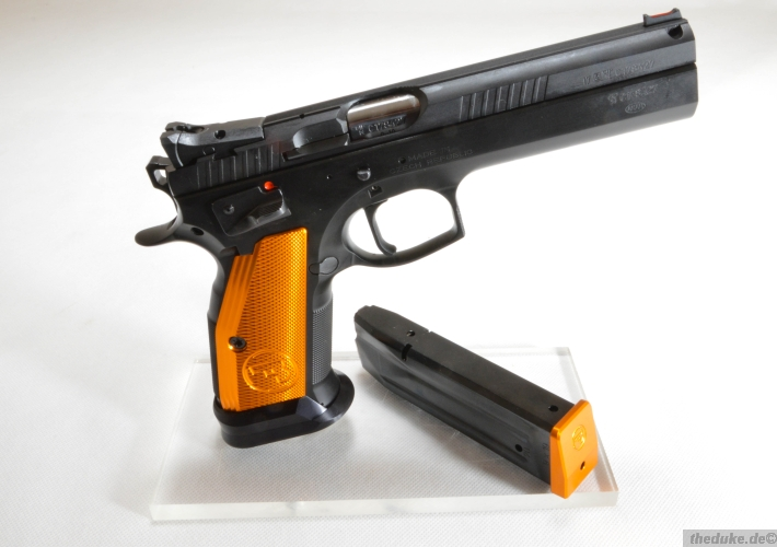 cz 75 tactical sport orange the duke gmbh. Black Bedroom Furniture Sets. Home Design Ideas