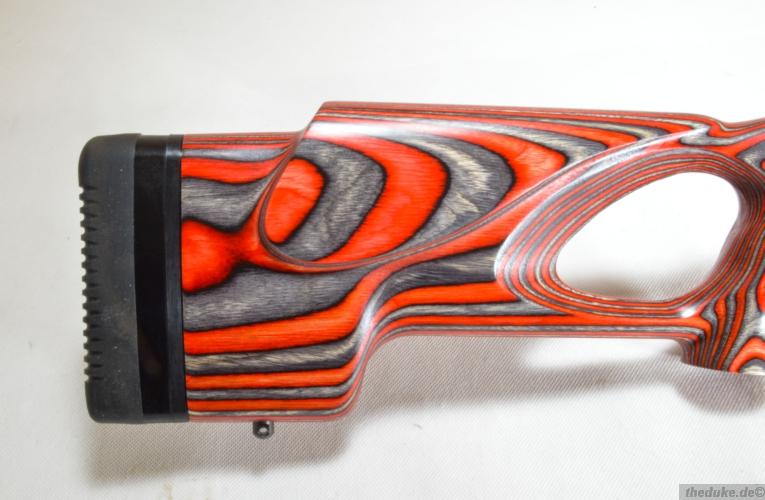 Ruger 1022 Target Lite Thumbhole Im Kaliber 22lr: Ruger 10/22 Target Lite Rot