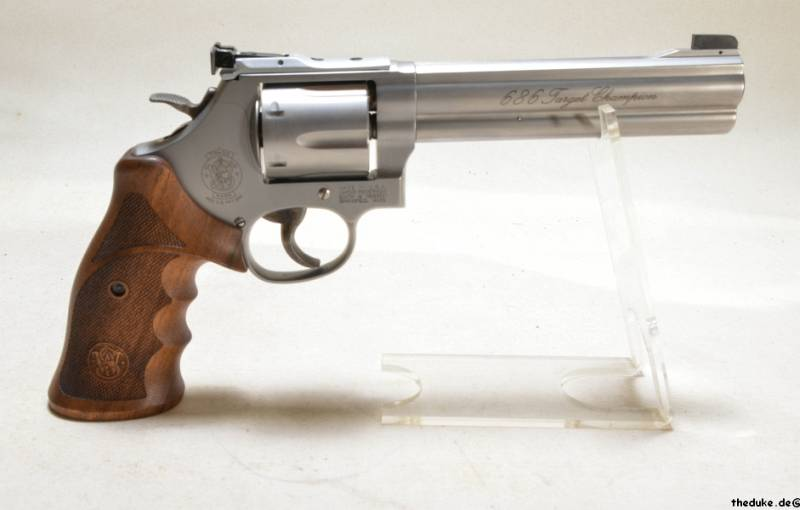 Smith Wesson 686 Target Champion